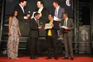 marco Borradori consegna il premio a Max Cardillo