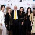 Da sx Daniela di Francesco, il Prof. Mece proprietario della Tenuta La Tacita, Roberta Torresan, Giorgia Albanese