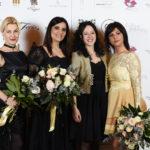 Da sx Erika Gottardi, Roberta Torresan, Giorgia Albanese, Monica Indaco