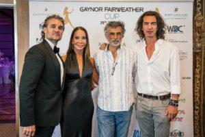 Da sx Mirko Saccani, Gaynor Fairweather, Enrico Lo Verso, Branko Tesanovic - Ph. Matteo Pizzi