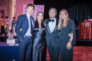 Gaynor Fairweather, Mirko Saccani, Manuela Maccaroni con il marito - Ph. Matteo Pizzi