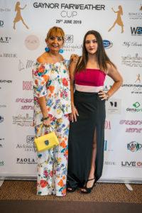 Tiziana Amorozi d'Adda con la figlia Beatrice - Ph. Matteo Pizzi