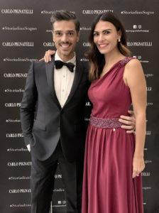 Massimiliano Varrese e Valentina Melis in Carlo Pignatelli